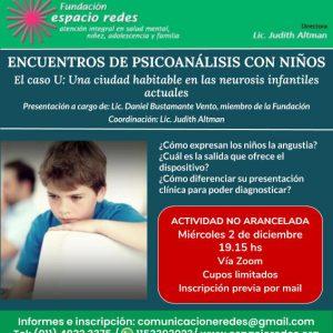 ENCUENTROS DE PSICOANÁLISIS CON NIÑOS